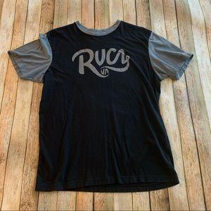 Rvca men's short sleeve graphic tee shirt | size M